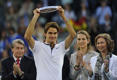 Roger Federer Finalist Madrid.10 g