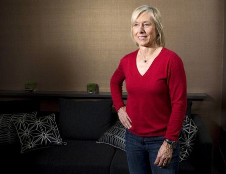Martina Navratilova Cancer Free
