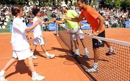 Rafael Nadal Jo Wilfried Tsonga Kids RG.10 1 fft