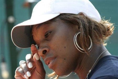 Serena Williams May 22 Practice RG.10 1 ap