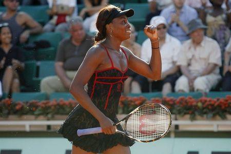 Venus Williams 1st R Win RG.10 1 r