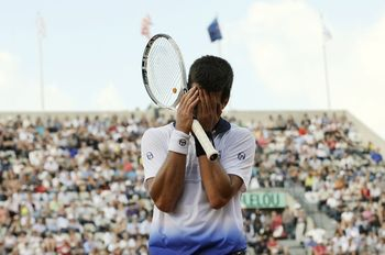 Novak Djokovic Qf Loss RG.10 g