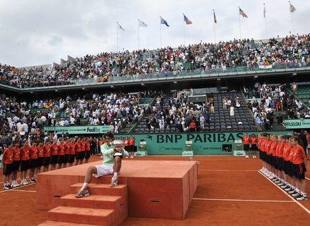 Rafael Nadal Wins RG.10 4 g