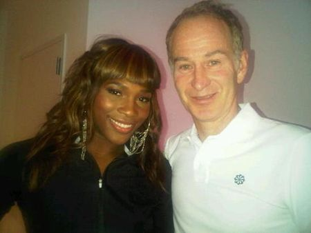 Serena Williams John McEnroe