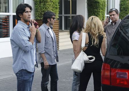 Fernando Verdasco Hangs with Shakira 3