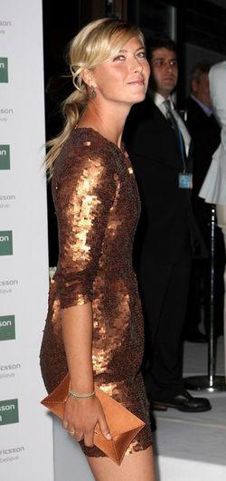 Maria Sharapova Pre-Wimbledon.10 Roof Garden Party g