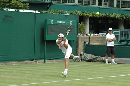 Rafael Nadal Practice June 18 Wimbledon.10 2 fb