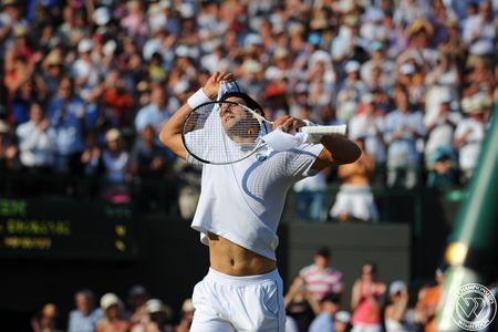 Novak Djokovic 4th R Win Wimbledon.10