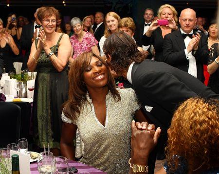 Rafael Nadal Serena Williams Wimbledon.10 Ball 2