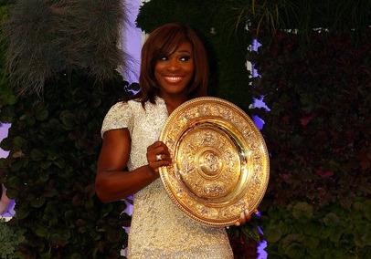 Serena Williams Wimbledon.10 Ball 1