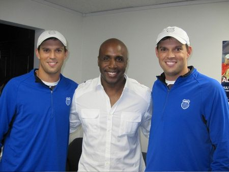 Bryan Brothers with Barry Bonds LA.10 tw