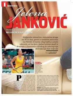 Jelena Jankovic Glamour Shots 2