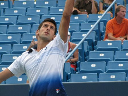 Novak Djokovic 2nd R Win Cincy.10 fb