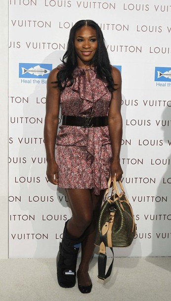 Serena Williams Louis Vuitton Opening