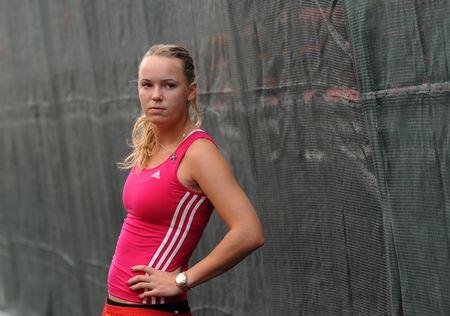 Carloine Wozniacki Fed Cup QF r 3