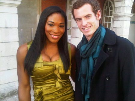 Serena Williams Andy Murray Burberry Event