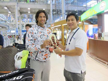 Fernando Verdasco Bangkok.10 Arrival Fb