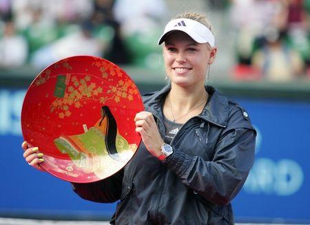 Caroline Wozniacki Tokyo.10 Winner g