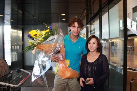 Rafael Nadal Tokyo.10 Arrival Maiko Ito Fb