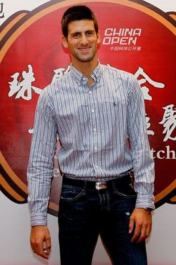 Novak Djokovic Beijing.10 Player Party 1 g