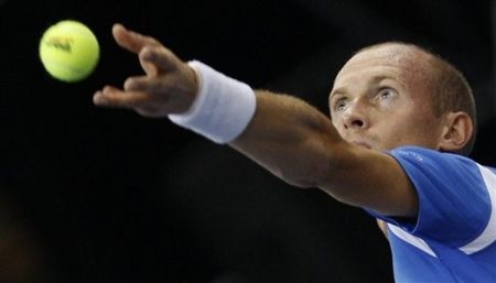 Nikolay Davydenko Beijing 2nd R Win ap