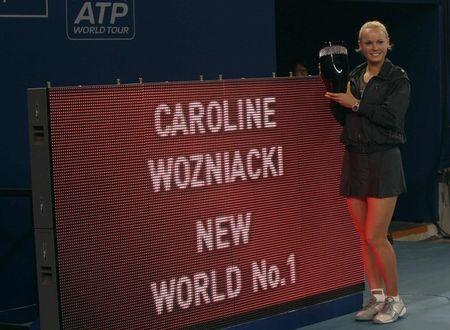 Caroline Wozniacki Beijing.10 World #1 r