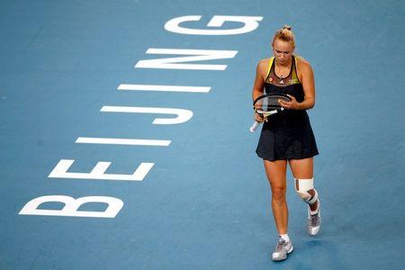 Caroline Wozniacki Beijing Sf Win g