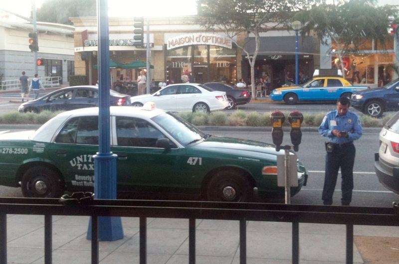 Cab Gets Ticket