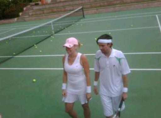 Chelsea Handler Tennis