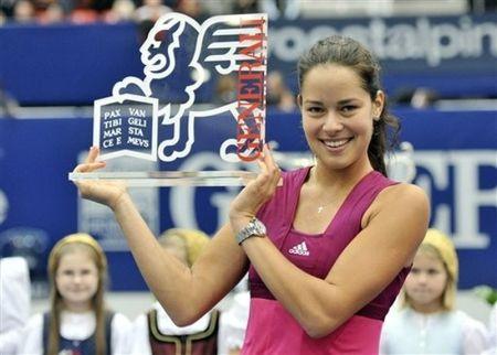Ana Ivanovic Linz.10 Winner 2 ap