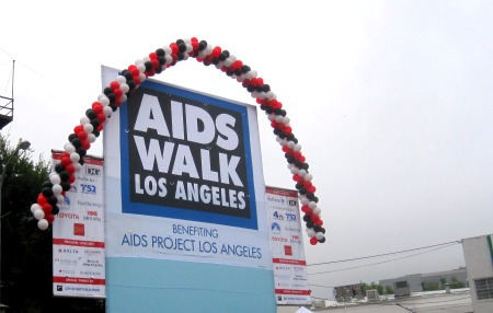 Copy of AIDS Walk Stage