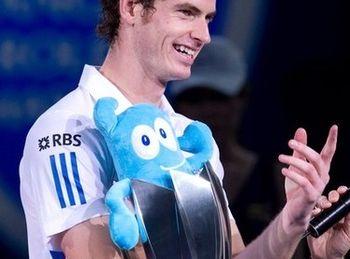 Andy Murray Shanghai.10 Win w Trophy g