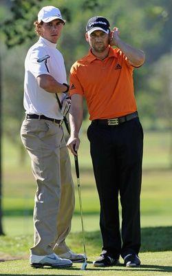 Rafael Nadal Sergio Garcia Golf 1 g