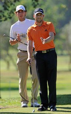 Rafael Nadal Sergio Garcia Golf 2 g