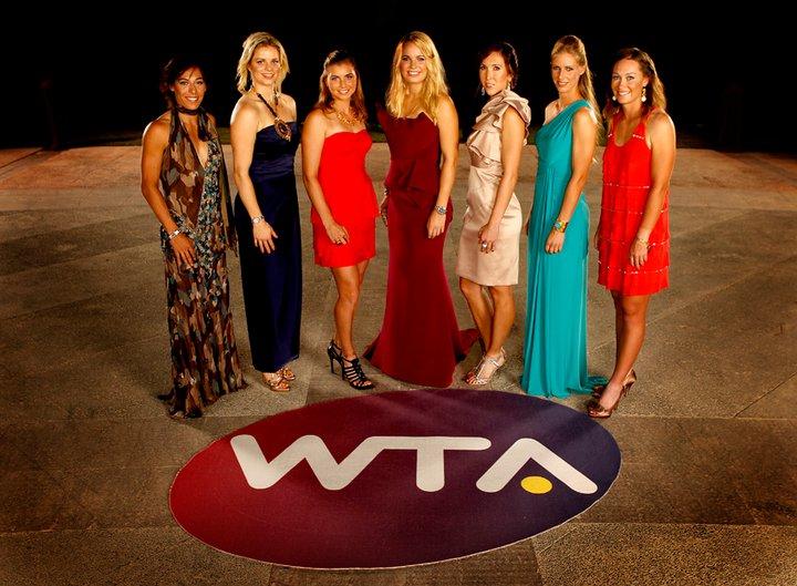 WTA Champs Players