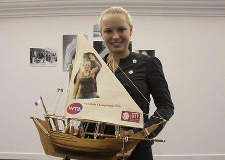 Caroline Wozniacki Doha.10 RR Win r
