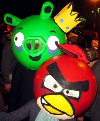 5 Angry Birds App