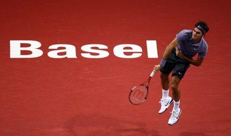 Roger Federer Basel.10 2nd R Win g