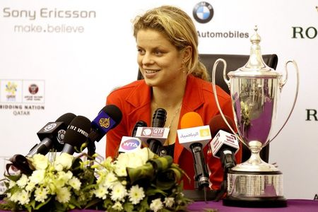 Kim Clijsters Doha.10 Presser 3 g