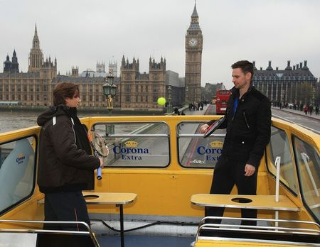 David Ferrer Robin Soderling London O2.10 Double Decker Tour 3 g