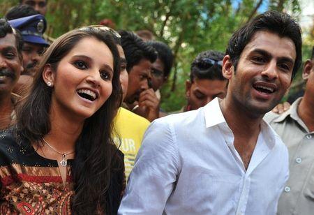 Sania Mirza and Shoaib Malik 1 g