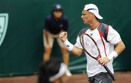 Lleyton Hewitt 2nd R Win Houston.10 atp fb
