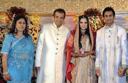 Sania Mirza Wedding Reception r