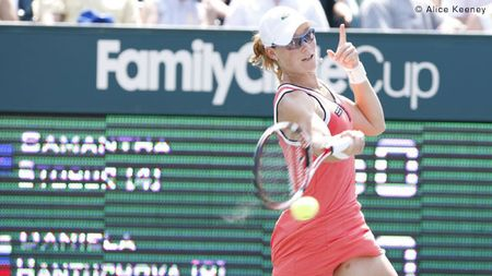 Sam Stosur Wins Charleston.10