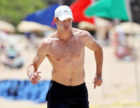 Andy Roddick Beach 1