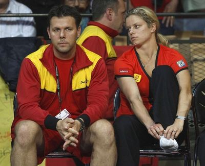 Kim Clijsters Foot Injury
