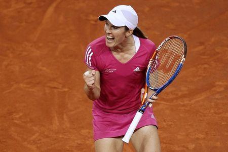Justine Henin Qf Win Stuttgart.10 g