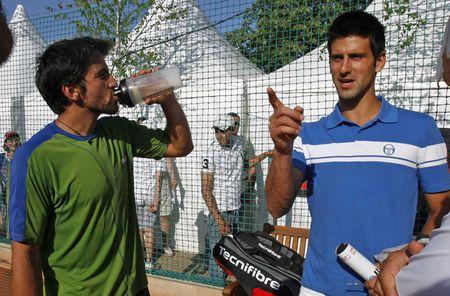Novak Djokovic Tours Belgrade.10 Grounds 3
