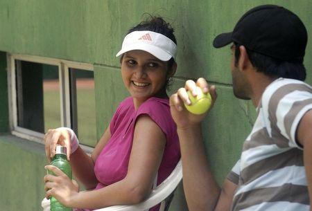 Sania Mirza Practice Session 2 g