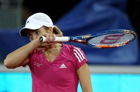 Justine Henin 1st R Loss Madrid.10 g